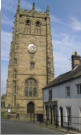 All Saints Church tower Youlegrave