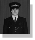 Ian De'Ath in Met Police uniform